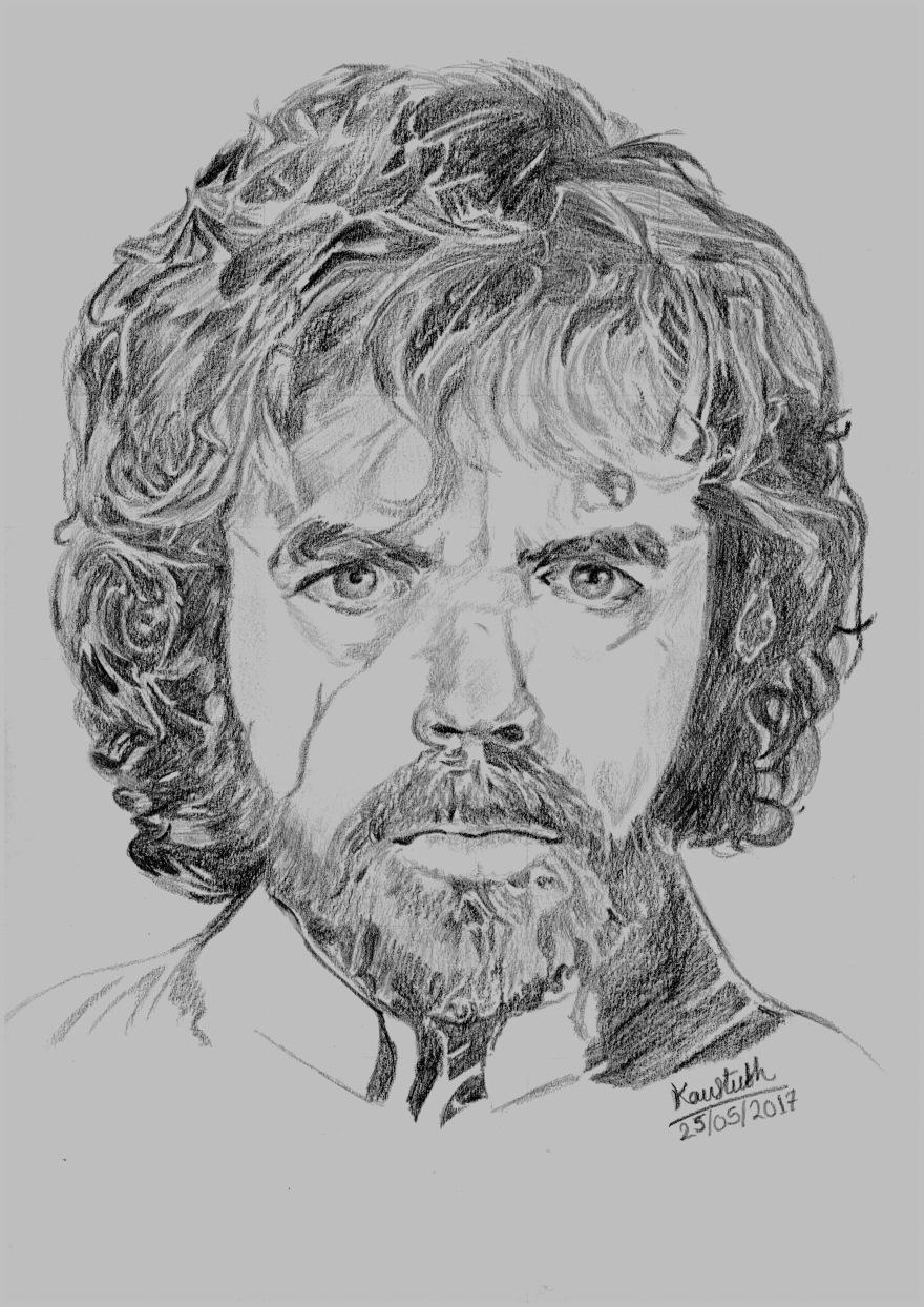 Tyrion Lannister Sketch 1